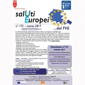 """Newsletter """"SalUtiEuropei"""" n° 172 - marzo 2017"""