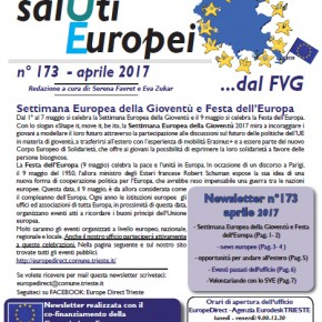 "Newsletter ""SalUti Europei"" n° 173 - aprile 2017"
