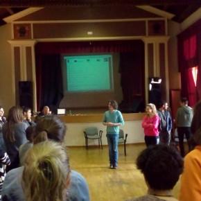 """10.5.17 - eccoci durante l'evento  """"I giovani e l'Europa"""" organizzato da ARCI Servizio Civile"""