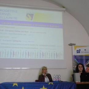 5.5.17 - intervento della Rete Eure sulle opportunità di tirocinio, lavoro e apprendistato all'estero