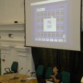 La presentazione da parte di Silvana Boldrini dell'agenzia Civicamente, della piattaforma Europa=Noi