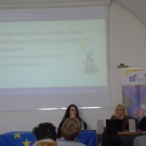5.5.17 - presentazione del Servizio professioni presenta i finanziamenti regionali