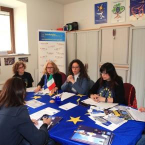 2.5.17 - Conferenza stampa con i giornalisti de Il Piccolo, Primorski Dnevnik e dell'Ufficio stampa del Comune