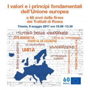 9 maggio: Festa dell'Europa - Convegno a Trieste
