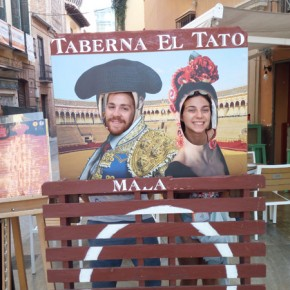 Io e Nicola (milanese, nonostante tenga nome puramente barese!) volontario europeo in Granada