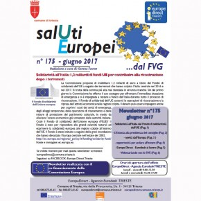 "Newsletter ""SalUtiEuropei"" n° 175 - giugno 2017"