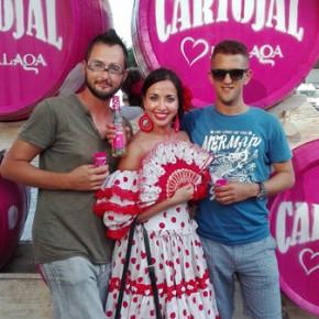 Feria con Abdel e Hector