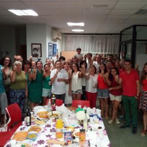 Fiesta de despedida con tutti i volontari