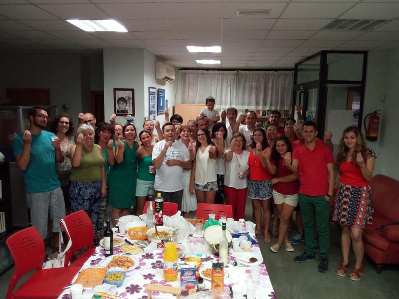 RID_Fiesta de despedida con tutti i volontari