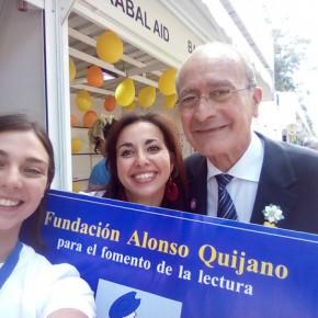 Selfie con il sindaco di Malaga !