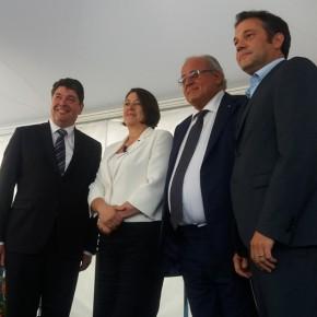 Con i sindaci di Gorizia, Nova Gorica e Vrtojba