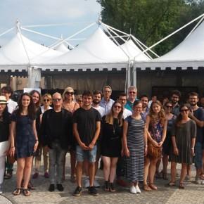Pronti per l'inizio, il gruppo di Trieste con quello di Venezia