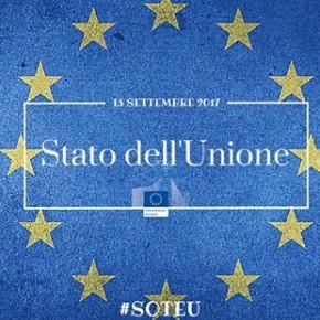 SAVE THE DATE: 13 settembre 2017 Stato dell'Unione Europea