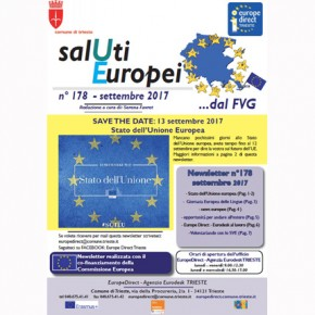 Newsletter SalUtiEuropei n° 178 - settembre 2017
