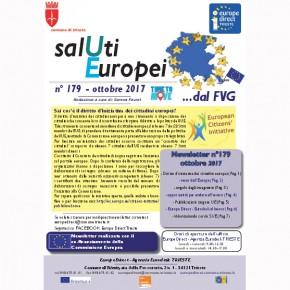 Newsletter SalUtiEuropei n. 179 - ottobre 2017