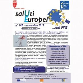 Newsletter SalUtiEuropei n. 180 - novembre 2017