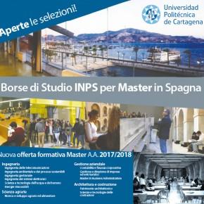 29 novembre presentazione delle borse di studio per master in Spagna