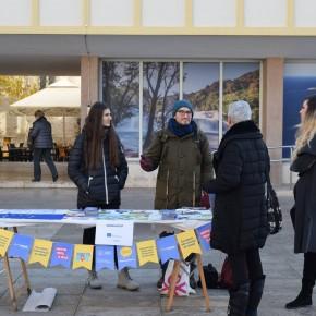 Giornata volontariato - stand eurodesk