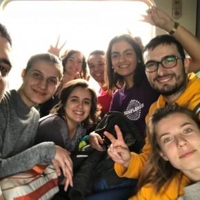Rientro in treno da Orahovica