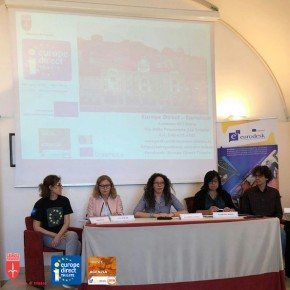 "9.5.18 - Festa dell'Europa - Evento ""Attivi in Europa"" - conferenza stampa"