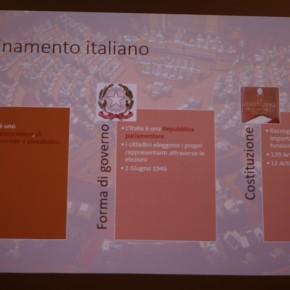 Spiegare l'ordinamento italiano