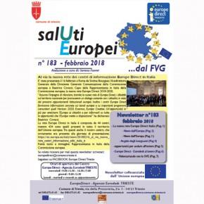 "Newsletter ""SalUti Europei"" n°183 - febbraio"