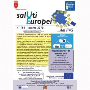"Newsletter ""SalUti Europei"" n° 184 - marzo 2018"