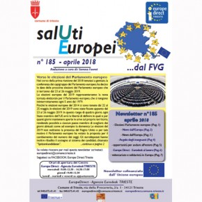 "Newsletter ""SalUti Europei"" n° 185 – aprile 2018"