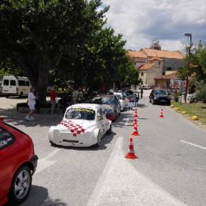 Gara di rally a Skradin