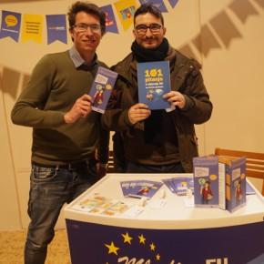 Francesco, volontario in Croazia, tra workshop, corsi di lingua e progettazione europea