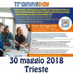 TrainingDay: Orientare i giovani alla mobilità transnazionale - 30 maggio Trieste - SLIDE