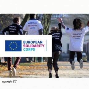 Corpo europeo di solidarietà: un nuovo invito a presentare proposte