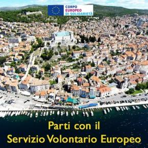 Parti con il Servizio Volontario Europeo: progetto approvato in Croazia