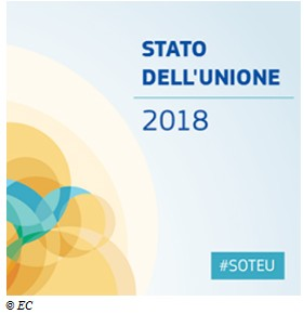 SAVE THE DATE: Discorso sullo Stato dell'Unione 2018 - 12.9.18
