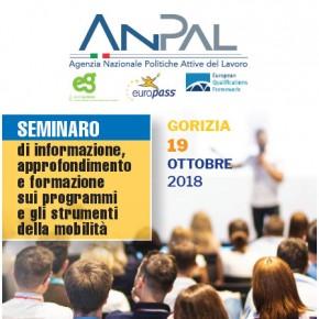 19 ottobre Gorizia: seminario sui programmi e strumenti della mobilità transnazionale