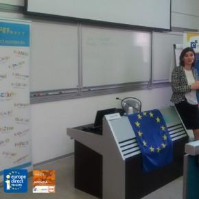 Introduzione da parte della moderatrice Dorina Stanculescu