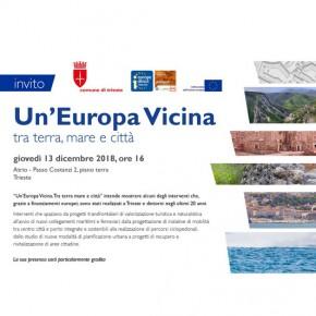 Mostra: Un'Europa Vicina - inaugurazione 13 dicembre ore 16.00