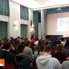 27.2.19 - Incontro presso il liceo Carducci Dante di Trieste