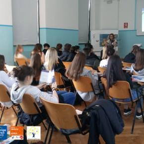 """20.3.19 - Incontro presso il liceo """"Da Vinci - Carli - Sandrinelli"""""""