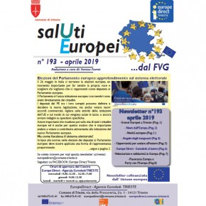 "Newsletter ""SalUti Europei"" n° 193 - aprile 2019"