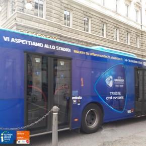 I bus si vestono di UEFA