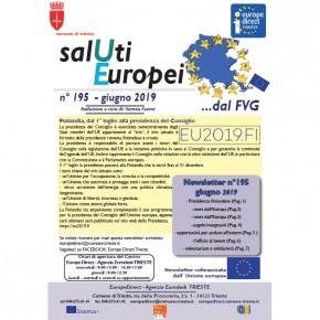 "Newsletter ""SalUti Europei"" n° 195 - giugno 2019"