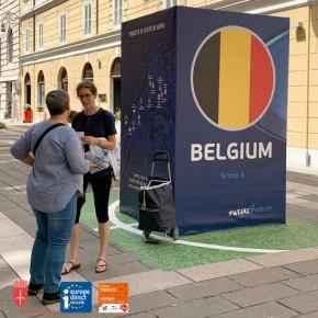 12.6.19 - UEFA Totem Belgio